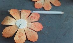 Scrap - Tuto Fleurs à partir d'une perfo Stampin'up