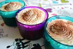 Mousse au chocolat et chantilly vanillée