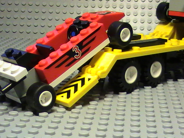 Lego city n° 6432 de 1999 - Le transport de F1.