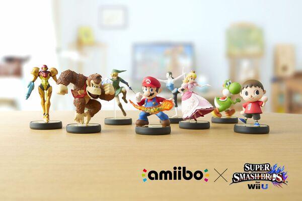 amiibo : Les ventes ont dépassées les 100 000 unités au Japon