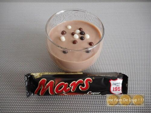 Crème dessert au Mars