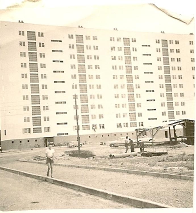 Cité du Grand Parc Année 1961