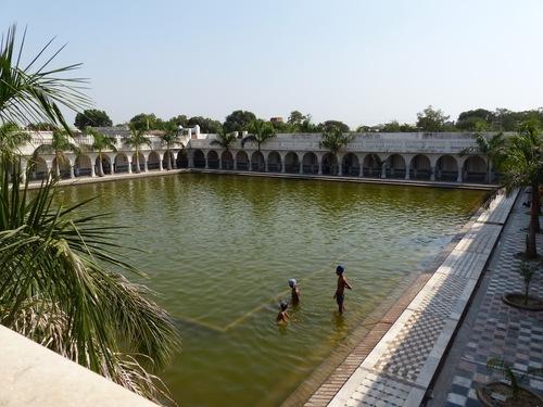 le temple sikh de Gwalior