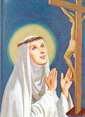 Sainte Catherine de Sienne et le purgatoire