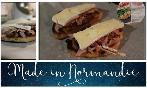 Tartines Normande
