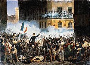 1005038-Juillet 1830 combats de la rue de Rohan