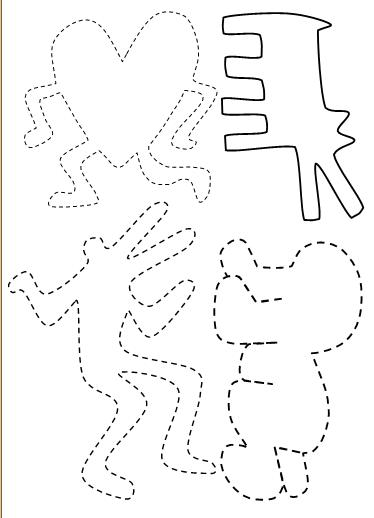 Autour de Keith Haring - Grande Section