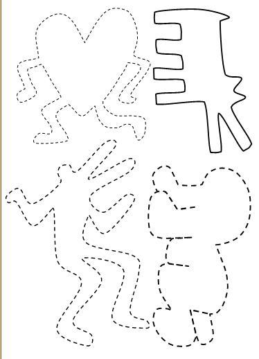 Autour de Keith Haring - Grande Section