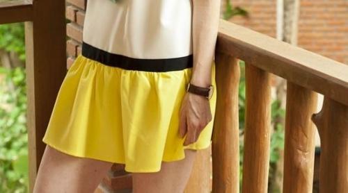 le jaune : la tendance du printemps