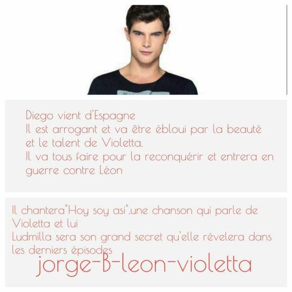 Attention infos sur la saison 2 de violetta mi vida violetta - Violetta personnage ...