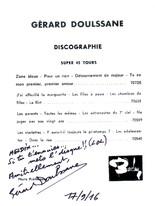 Les    dédicaces    de    Gérard    Doulssane