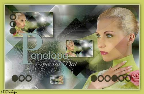 Traduction Pénélope d'Ildiko KJK Design