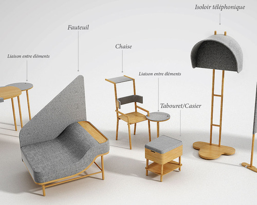 Le mobilier des nouveaux espaces