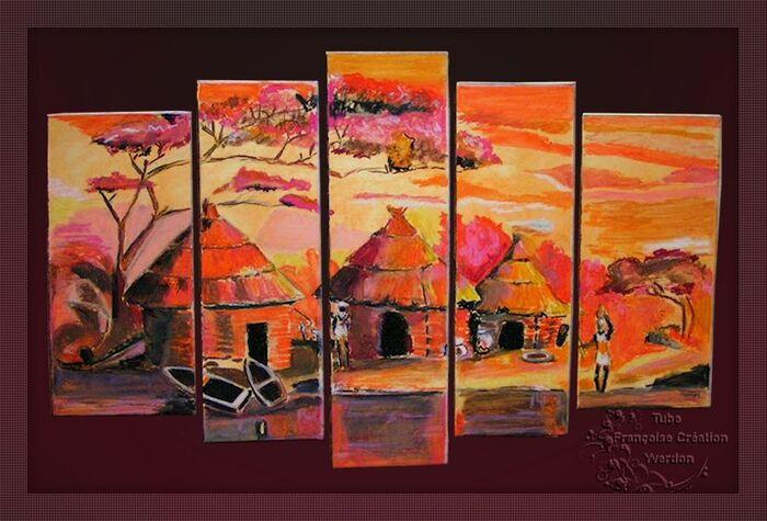 Paysages Africains (01 à 10)