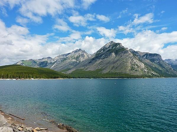 Jour 16 Banff Lac Minnewanka 3