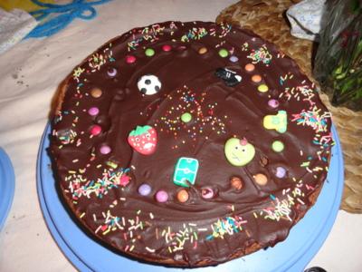 Blog de melimelodesptitsblanpain : Méli Mélo des p'tits Blanpain!, Le gâteau au chocolat des anniversaires!