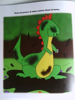 Chronique de l'album {Petit Dino crado}