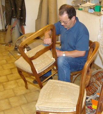 Refaire l assise d une chaise un travail norme for L assise d une chaise