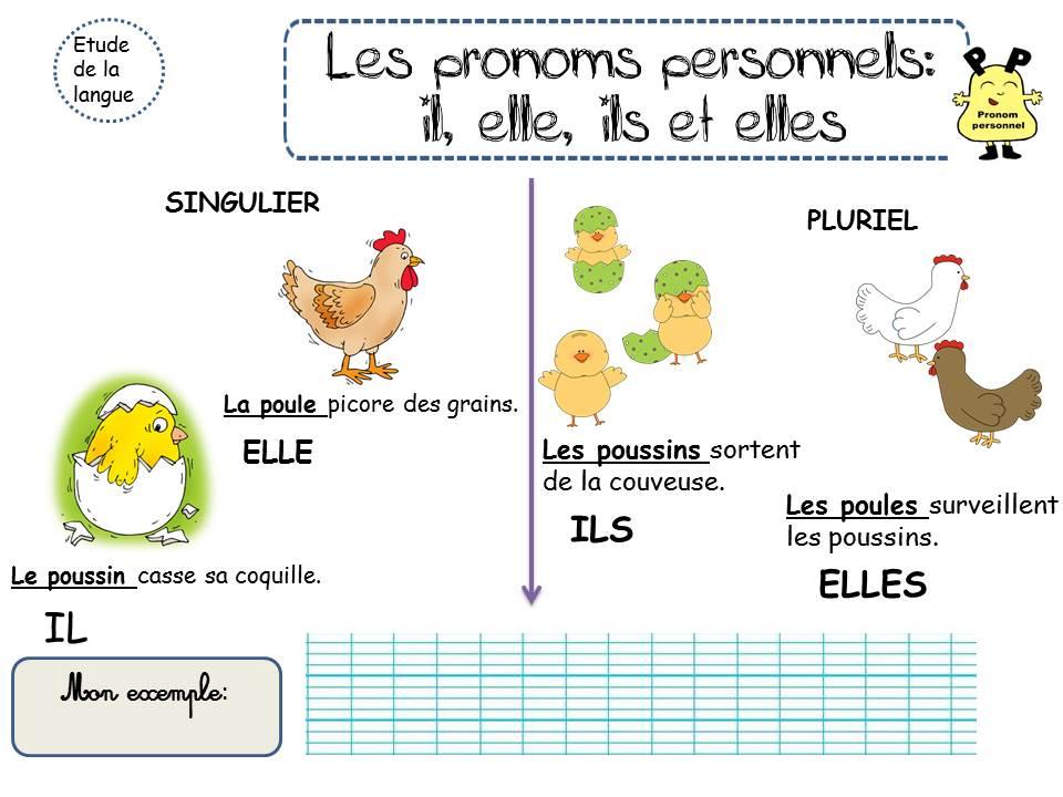 CP - LES PRONOMS - La classe de Corinne