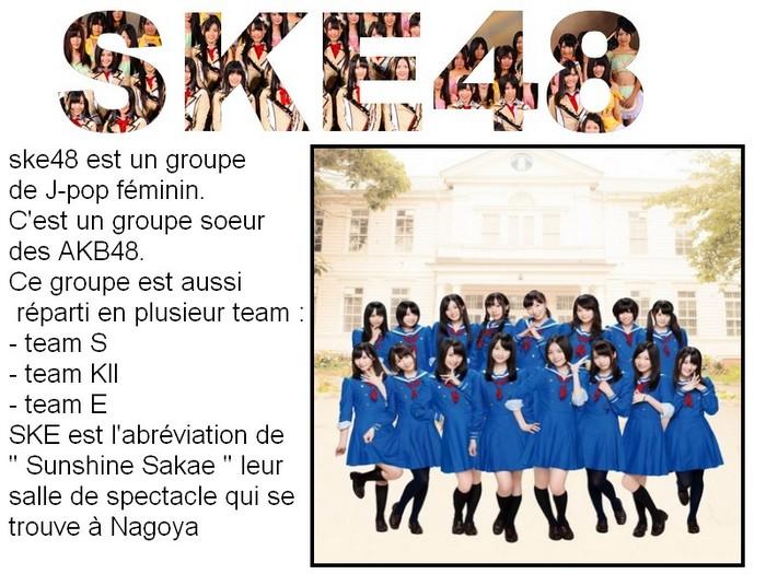 - SKE48