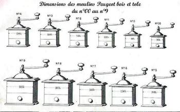 PeugeotTailles