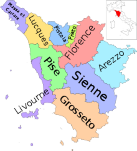 Tésori d'Italia case 20 : Toscana