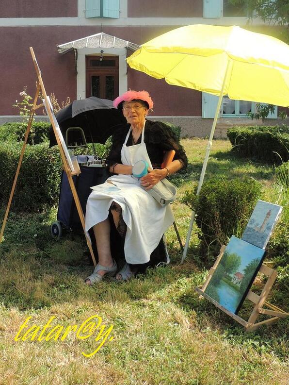 Festival de peinture. Magné. 3)