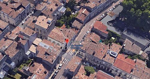 Bordeaux - coin rues Sainte-Luce et Goya (GoogleMaps 3D)