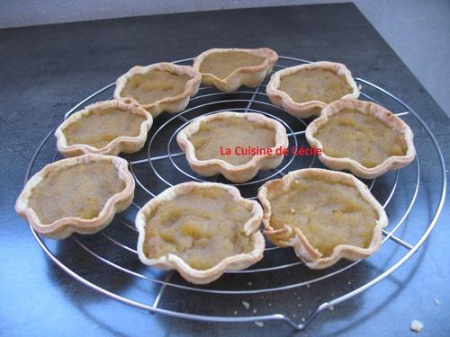 Tartelettes pommes d'amour