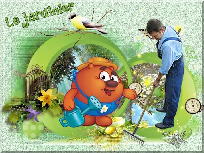 Le jardinier défi pour Marjolaine !