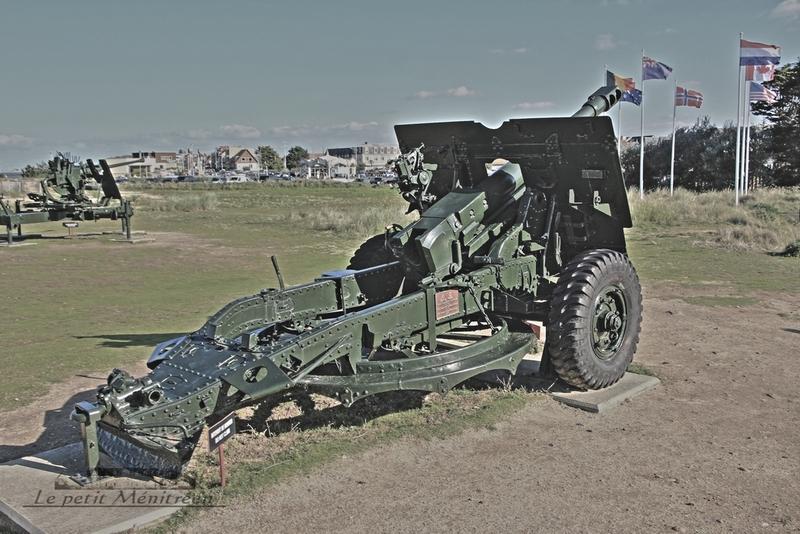 Canon QF 25 pounder (Ouistréham)