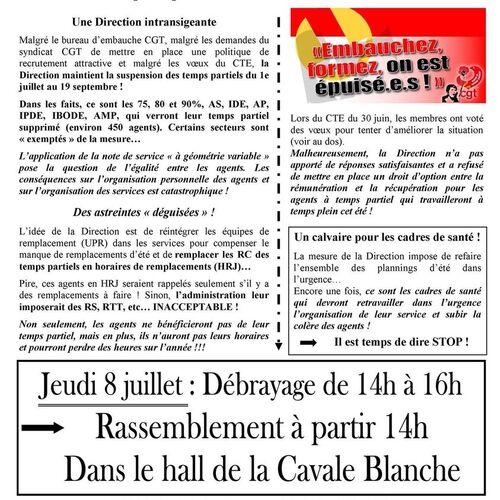 CGT CHRU Brest-Carhaix : Vidéo d'information et mobilisation le 8 juillet. ( FB.com - 02/07/21 )