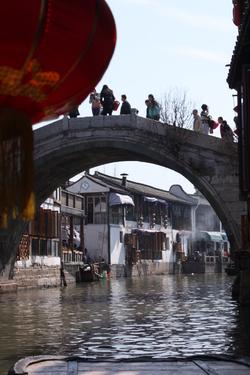 Visite de Zhujiajiao en famille Delville