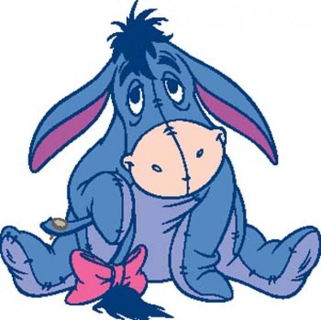 Le Petit âne Bleu Mirabelle 73