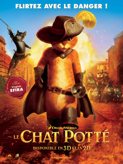 Le film de la semaine: Le chat potté