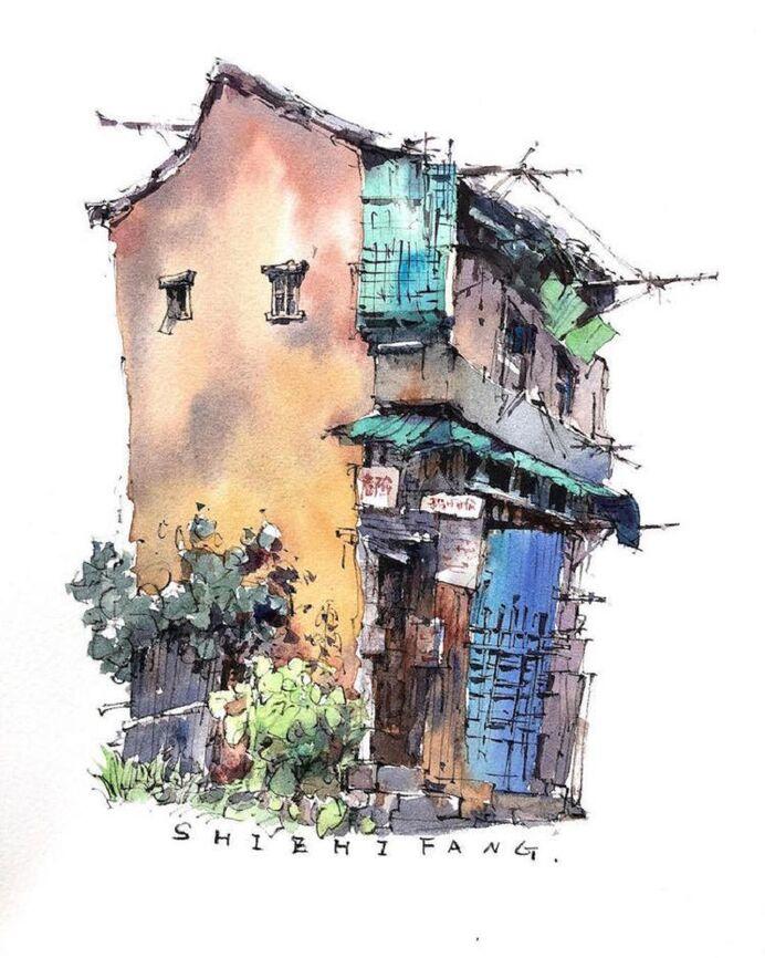 Le Charme des vieilles Villes asiatiques selon  Zhifang Shi (8)