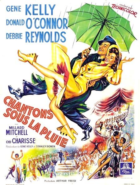 Chantons sous la pluie, le film