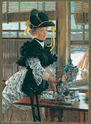 Tea 1872 - James Jacques Joseph Tissot - www.jamestissot.org