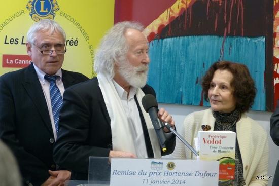 Claude de Miniac, Gilles Laporte et Hortense Dufour
