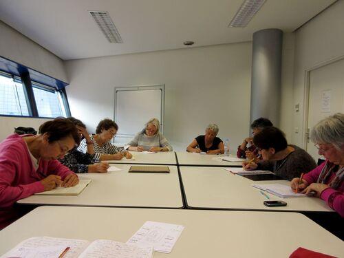 Ateliers d'écriture du 1 et 8 octobre