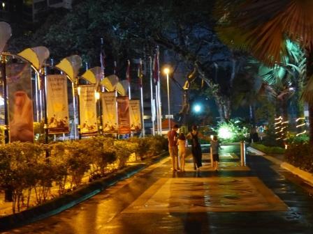 Premières images de Kuala Lumpur