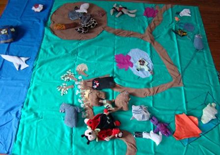 Raconte tapis Lapinou1