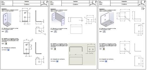 05 004 Exercice modification de pièces Solidworks