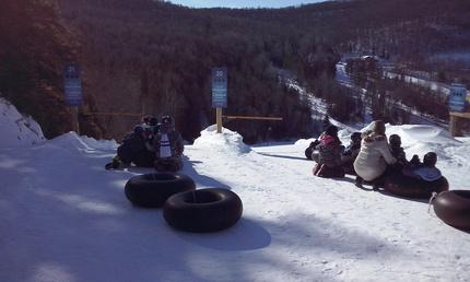 Pictures from my winter activity at ''Les Glissades des Pays d'En Haut'' in Piedmont/St-Sauveur