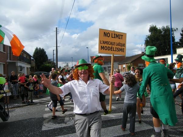Une merveille d'ambiance pour le défilé carnavalesque de Beaurains.