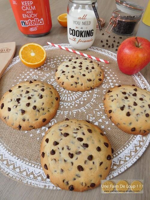 Cookies cœur fondant Nutella