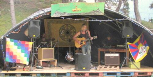 Jean Luc Schreiner au festival Clots K'en pattes