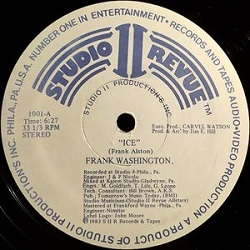 Frank Washington - Ice