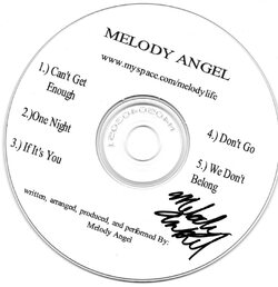 MELODY ANGEL - MELODY ANGEL (EP 1995)