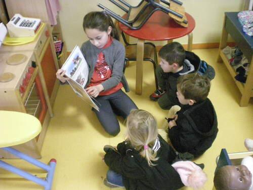 Lecture des CM en maternelle